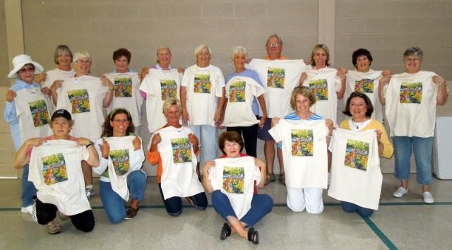 Some of this year's wonderful volunteers!!!