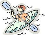A_Colorful_Cartoon_Man_Kayaking_Royalty_Free_Clipart_Picture_100619-228845-263053