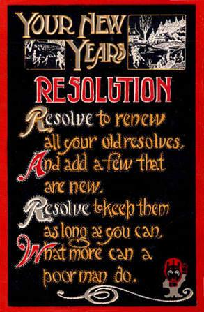 NewYearsResolution1915SecondPostcard